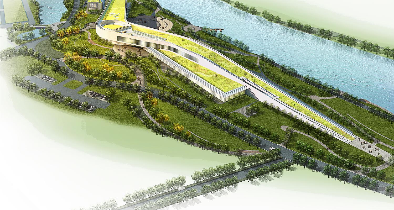 九米建筑设计 - 嵊州绿城甘霖农业展示中心一期