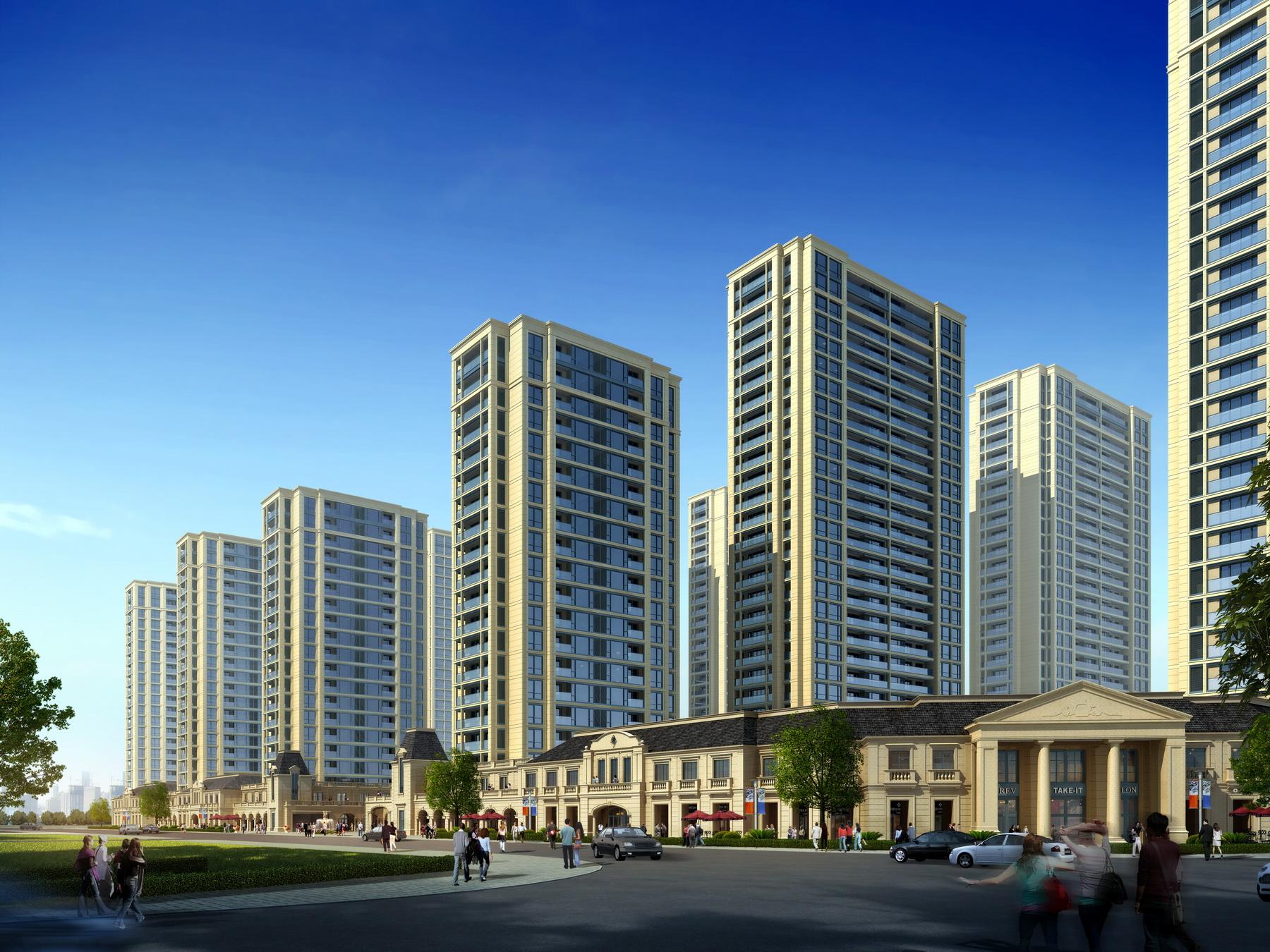 九米建筑设计 - 缙云绿城玉兰花园